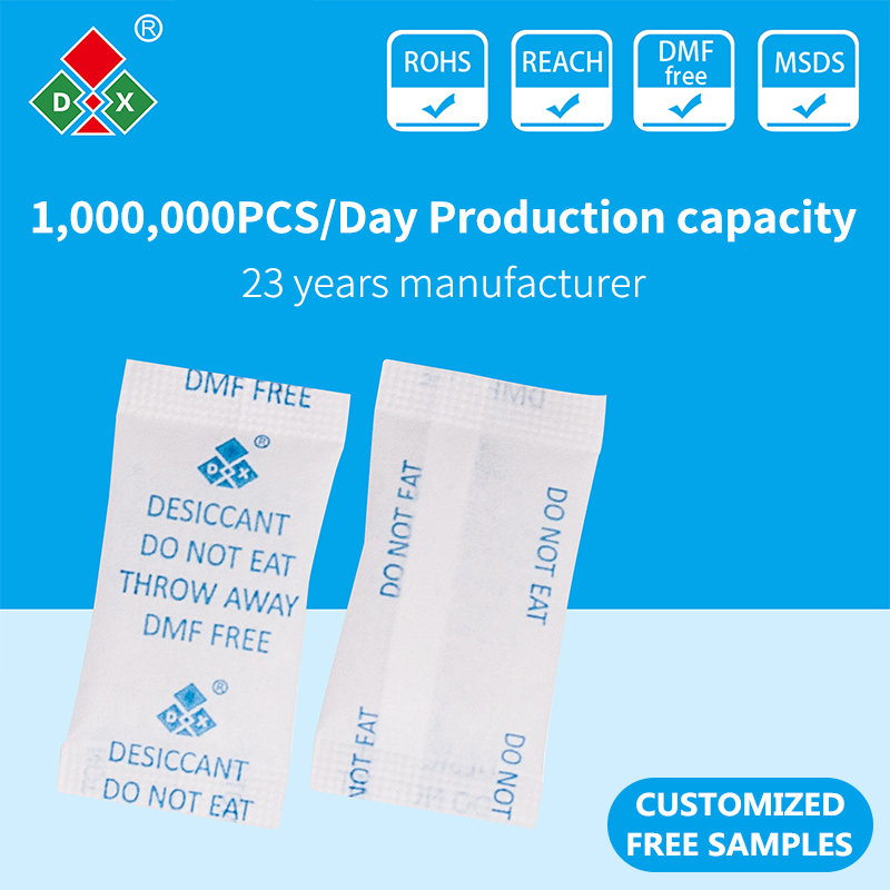 DMF FREE silica gel desiccant for food